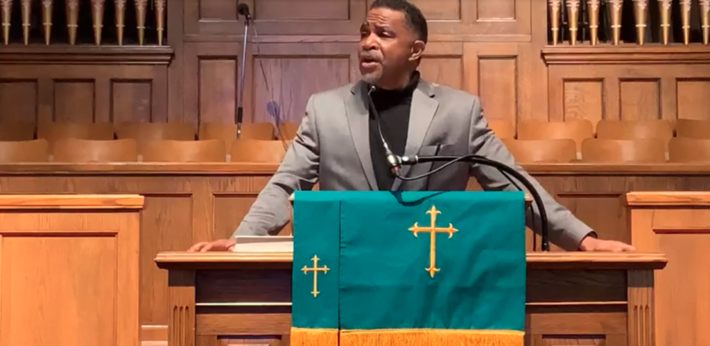 Rev. Kenneth Hicks Preaches at 16th Street Baptist Church